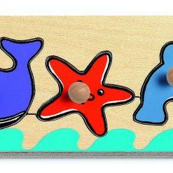 Drewniane puzzle Morze