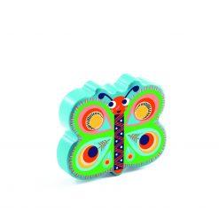 Drewniany marakas Motylek