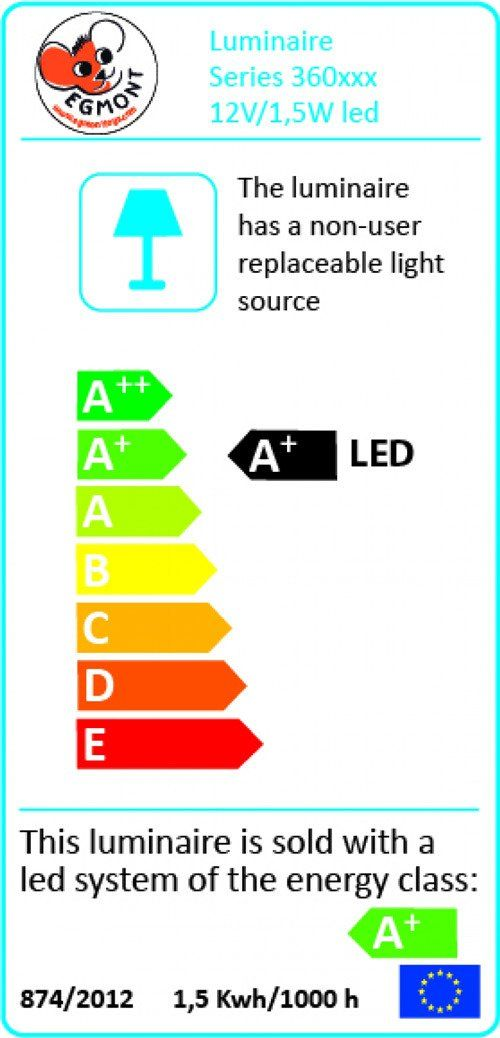Lampka nocna LED Sarenka