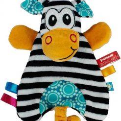 Przytulanka pacynka Zebra