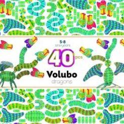 Puzzle Volubo 3D Smok