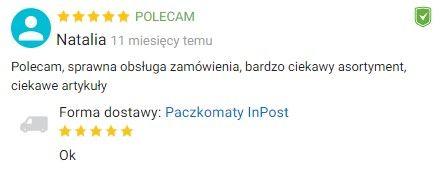 Opinia Ceneo zabawkirozwojowe.pl