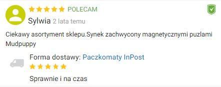 Dobra opinia Ceneo zabawkirozwojowe.pl
