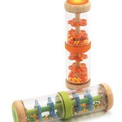Shaker pomarańczowy z kulkami