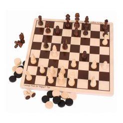 Szachy i warcaby – zestaw gier