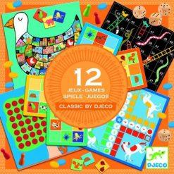 Zestaw 12 gier Classic box