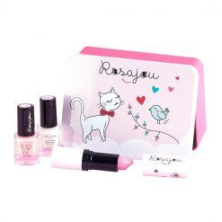 Kosmetyki w pudełku z kotkiem