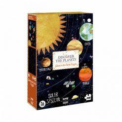 Puzzle dla dzieci Odkryj Planety