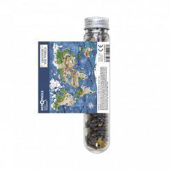 Puzzle mikro Mapa świata