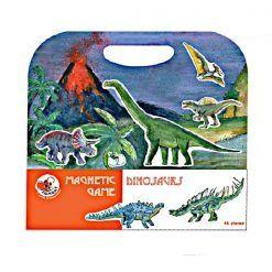 gra magnetyczna Dinozaury