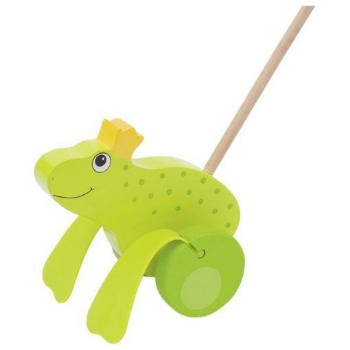 Żabi król do pchania