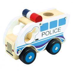 Autko drewniane – Policja