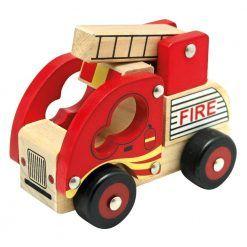 Autko drewniane – Straż Pożarna