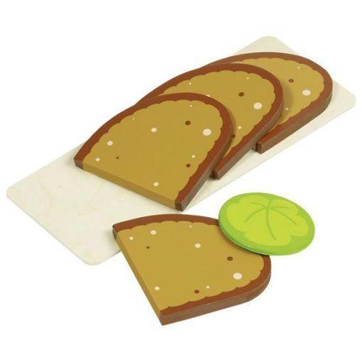 Chleb na desce – kanapki