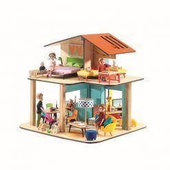 Domek dla lalek Kolorowy dom