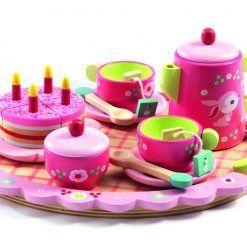 Drewniany zestaw urodzinowy Lili Rose