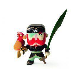 Figurka pirat Sam z papugą