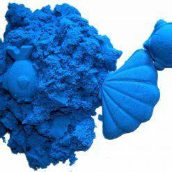 Piasek kinetyczny 2 kg niebieski