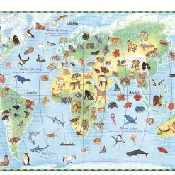 Puzzle Świat zwierząt z książeczką