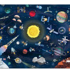 Puzzle Kosmos z książeczką