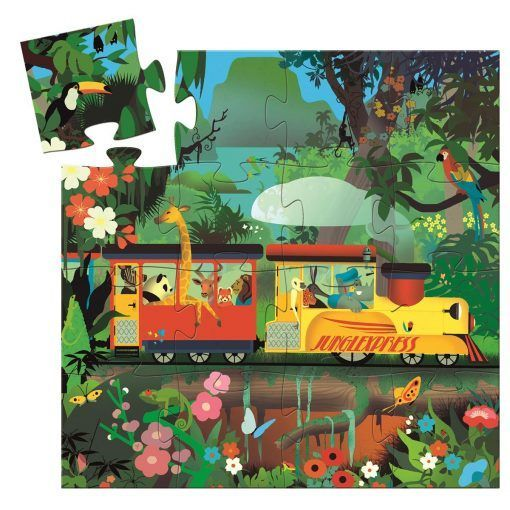 Puzzle Lokomotywa