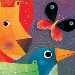 Puzzle Parada zwierząt