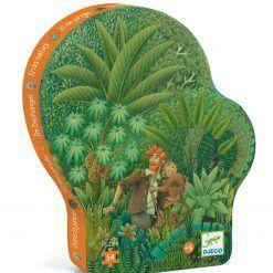 Puzzle W dżungli
