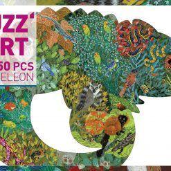 Puzzle artystyczne Kameleon