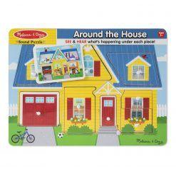 Puzzle Dookoła Domu