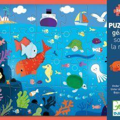 Puzzle kartonowe gigant W morzu