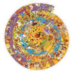 Puzzle na okrągło Historia świata