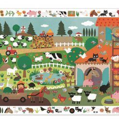 Puzzle obserwacja Farma