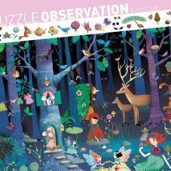 Puzzle obserwacja Las