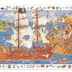 Puzzle obserwacja Piraci