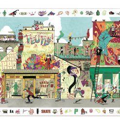 Puzzle obserwacja Street art