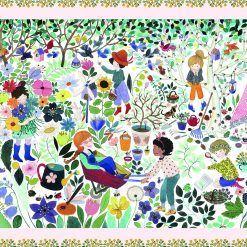 Puzzle obserwacja Tysiąc kwiatów