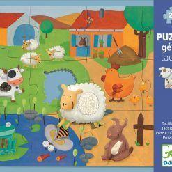 Puzzle sensoryczne Farma