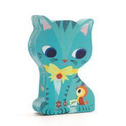 Puzzle tekturowe Kotek