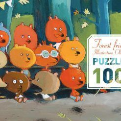 Puzzle Leśni przyjaciele
