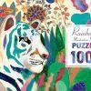 Puzzle tekturowe Rainbow tigers