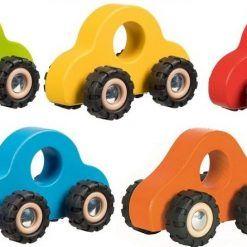 Samochodziki na gumowych kołach