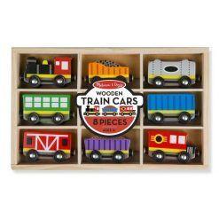 Pociąg z wagonikami w skrzynce