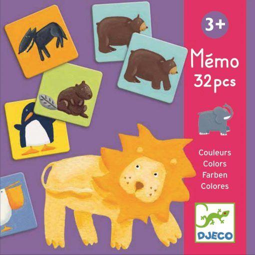 Gra pamięciowa Kolorowe zwierzątka