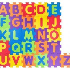 Mata puzzle podłogowe alfabet
