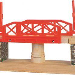 Most rotacyjny do rozbudowy kolejki