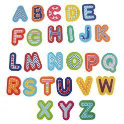 Naklejki do kąpieli Alfabet