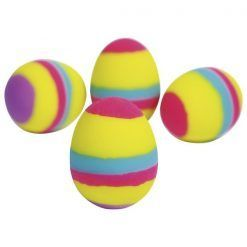 Piłeczka skacząca kolorowe jajko