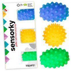Piłeczki sensoryczne 3 sztuki