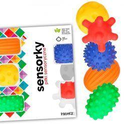 Piłeczki sensoryczne 5 sztuk