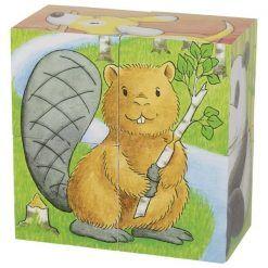 Puzzle sześcienne Małe Zwierzaki